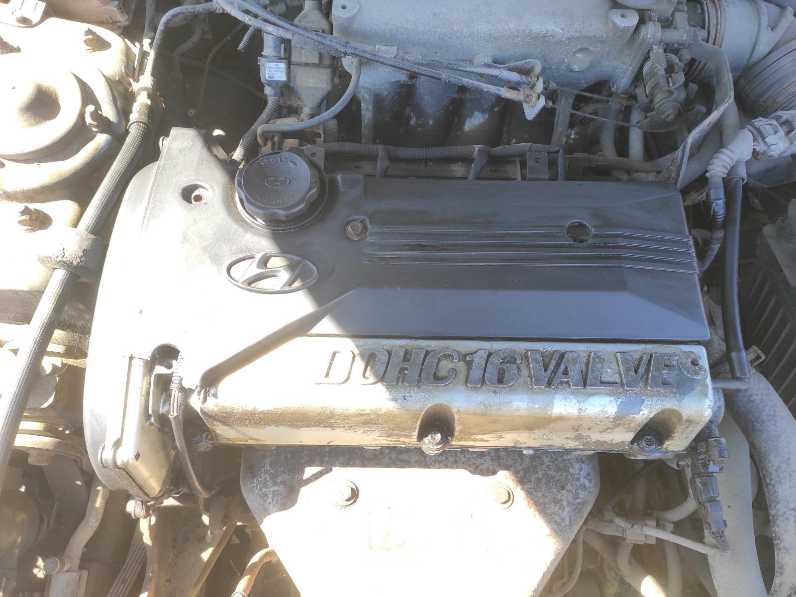 Двигатель Hyundai Sonata 2.4 2001 (б/у)