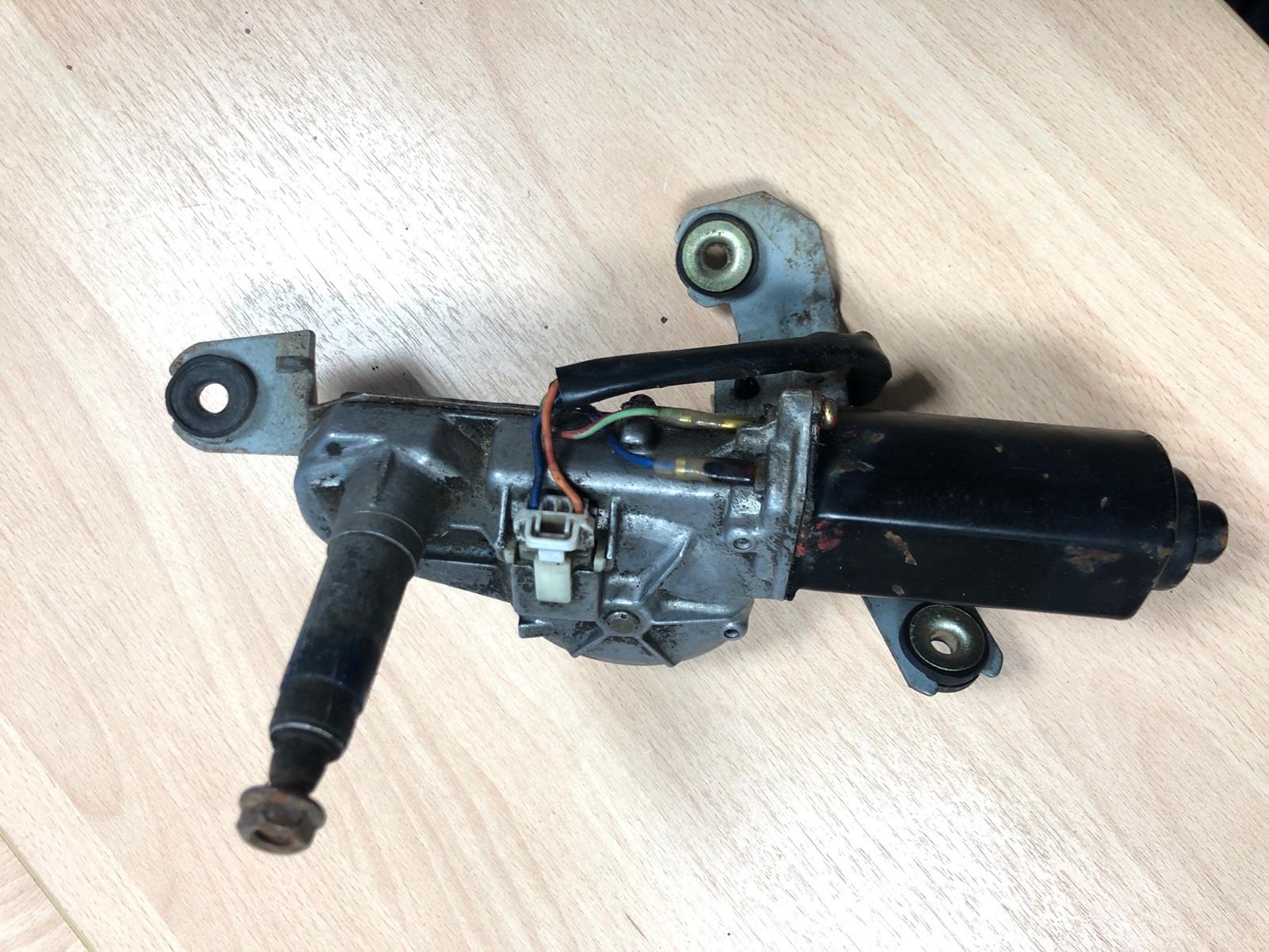 Моторчик стеклоочистителя Nissan Almera N15 1.4 1995 задний (б/у)