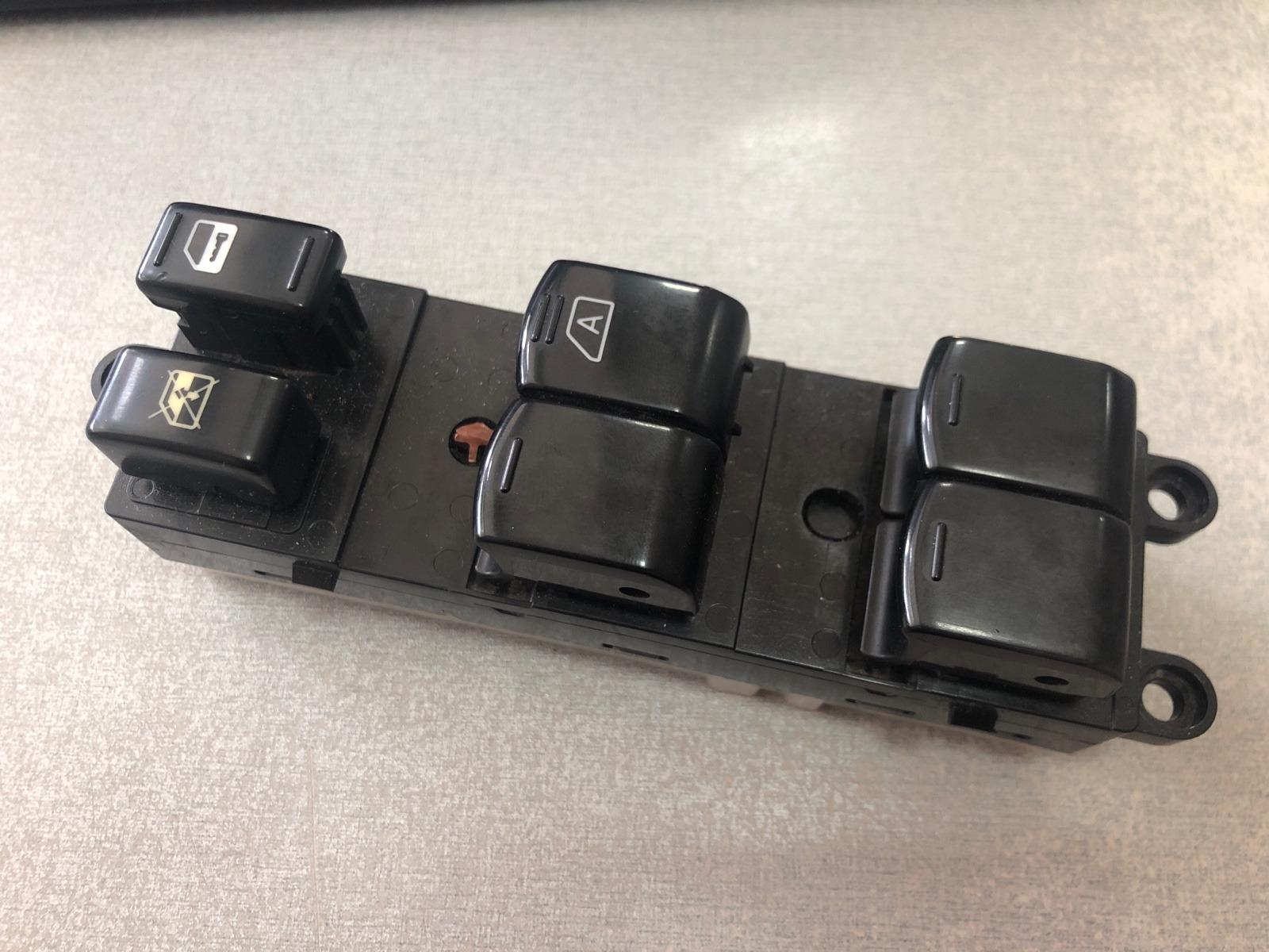 Блок управления стеклоподъемниками Nissan Tiida C11 1.5 2004 передний правый (б/у)