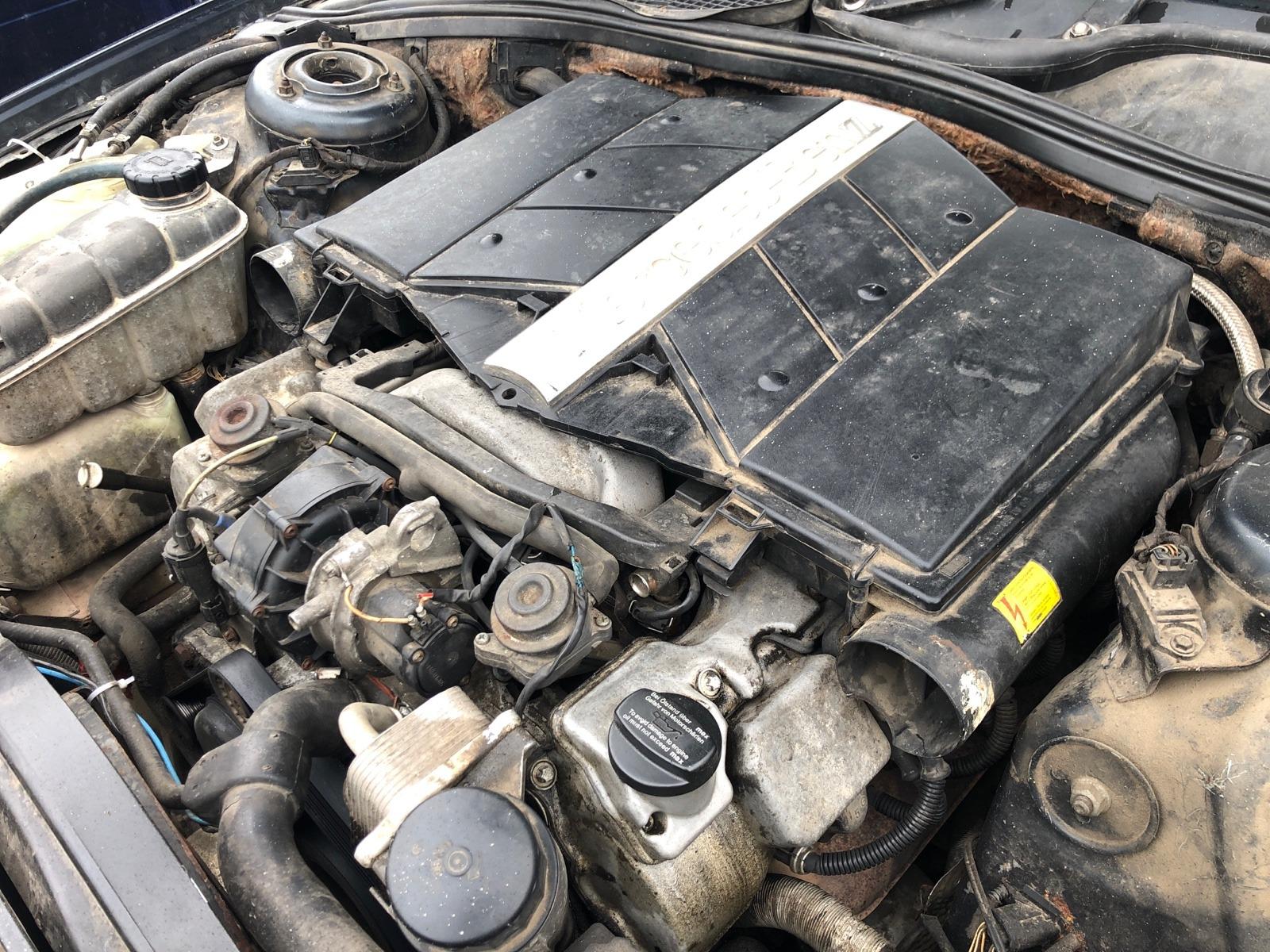 Двигатель Mercedes Benz S Class W220 4.3 1999 (б/у)