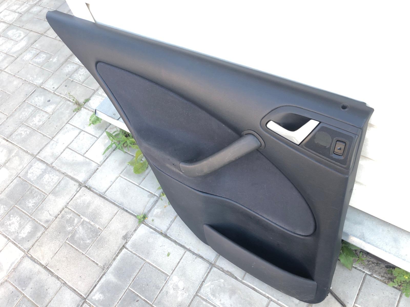 Обшивка двери Skoda Octavia ЛИФТБЕК 1.8 2001 задняя левая (б/у)