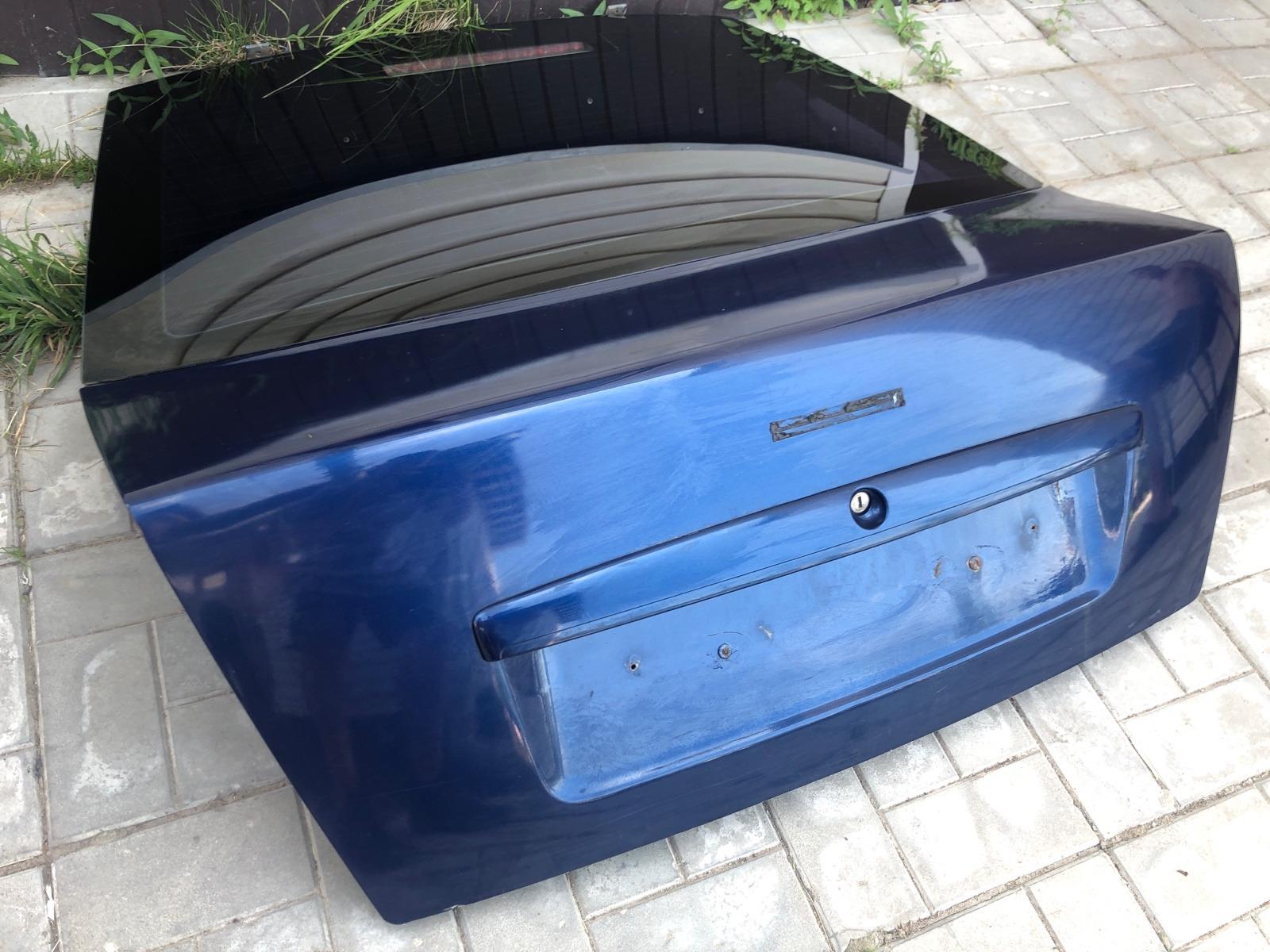 Крышка багажника Skoda Octavia ЛИФТБЕК 1.8 2001 задняя (б/у)