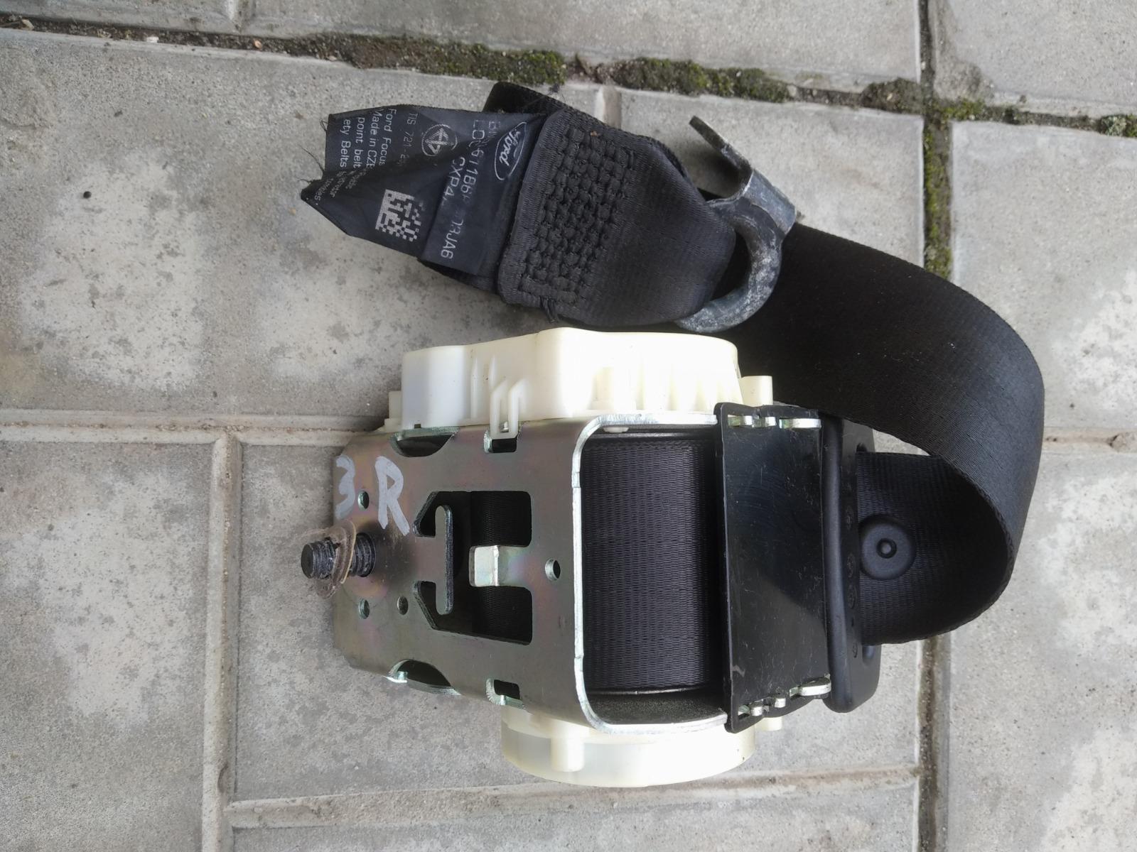 Ремень безопасности Ford Focus 3 СЕДАН 1.6 2012 задний правый (б/у)