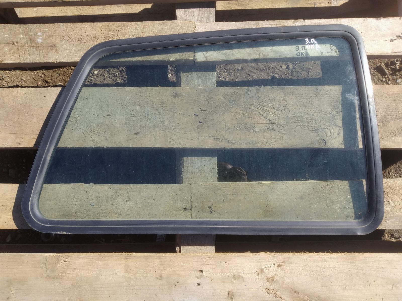 Стекло кузовное Lada (Ваз) Ока ХЭТЧБЕК 3ДВ. 11113 2007 заднее правое (б/у)
