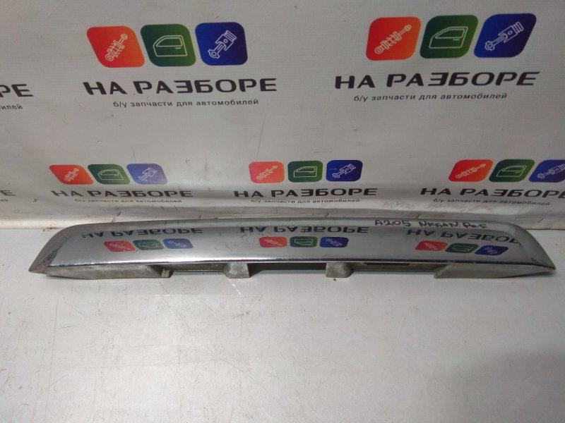 Накладка крышки багажника Nissan Pathfinder (б/у)