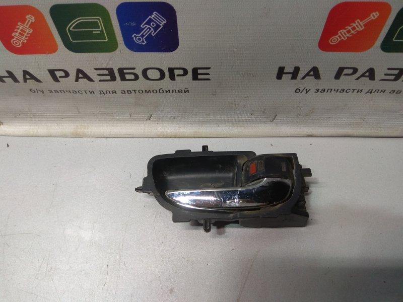 Ручка двери внутренняя Toyota Auris передняя правая (б/у)