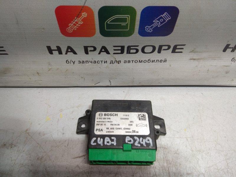 Блок управления парктроником Citroen C4 B7 (б/у)