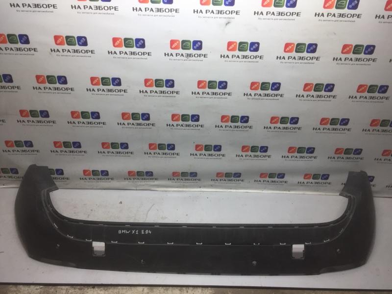 Накладка на бампер Bmw X1 E83 задняя (б/у)