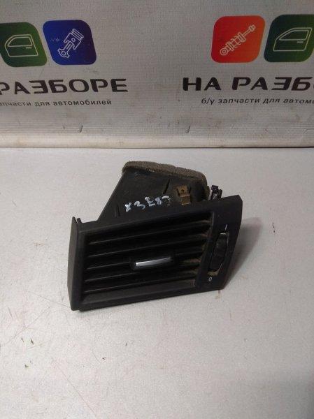 Дефлектор на торпедо Bmw X3 E83 левый (б/у)