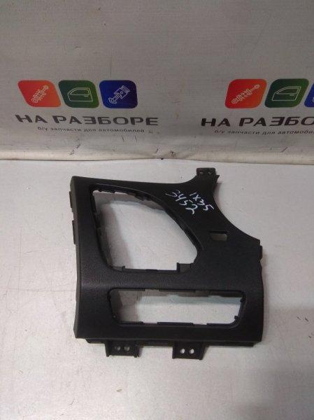 Накладки на торпедо боковые Hyundai Ix 35 2.0 2012 левые (б/у)