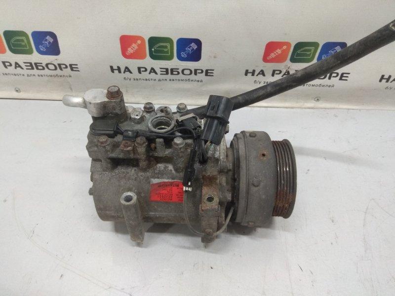 Компрессор кондиционера Mitsubishi Pajero 6G72 (б/у)