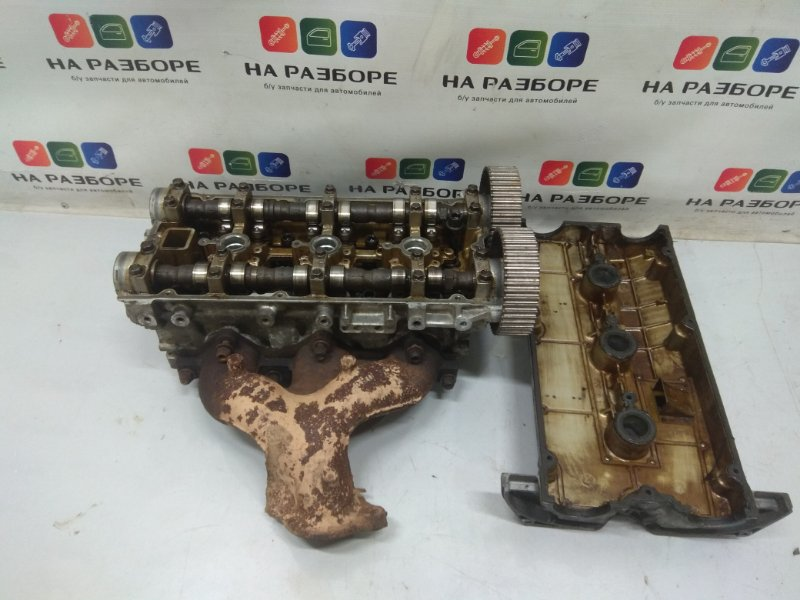 Головка блока цилиндров Mitsubishi Pajero 6G72 (б/у)