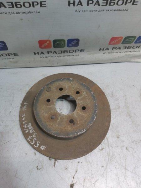 Тормозной диск Nissan Pathfinder R51 задний (б/у)