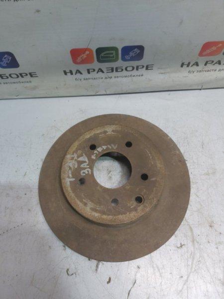 Тормозной диск Nissan X-Trail T31 задний (б/у)