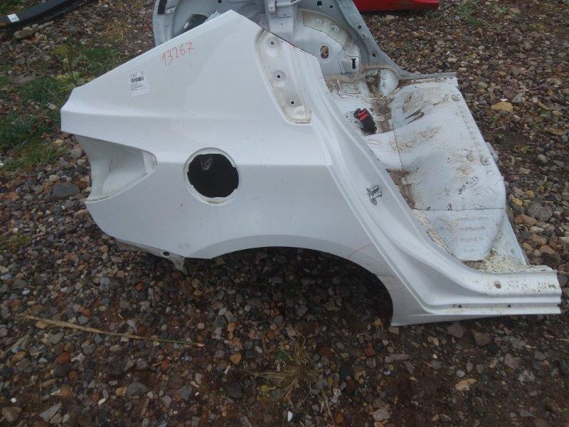 Четверть Chevrolet Cruze J305 1.8 2012 задний правый (б/у)