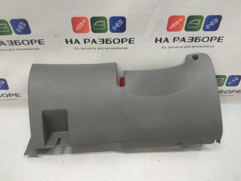 Накладка торпедо под рулевой колонкой Kia Spectra LD 1.6 S6D 2007 левая (б/у)