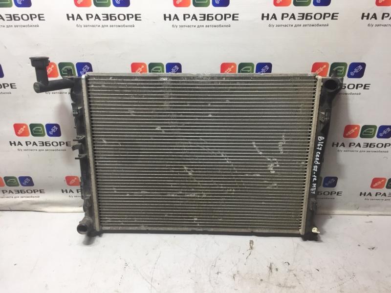 Радиатор двс Kia Ceed 1 (б/у)