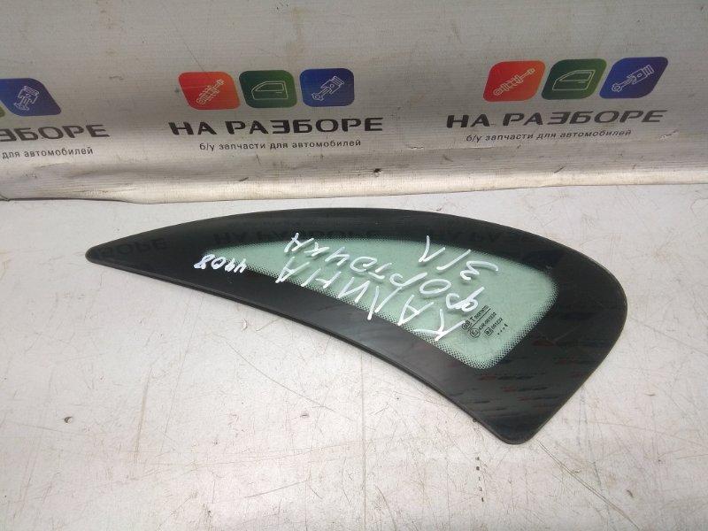 Форточка в крыло Lada Kalina СЕДАН 1.6 2006 задняя левая (б/у)