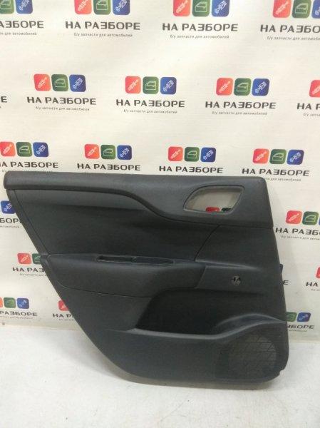 Обшивка двери Citroen C4 B7 задняя левая (б/у)