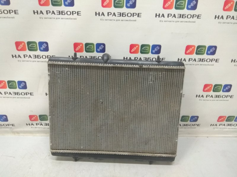 Радиатор двс Peugeot 308 (б/у)