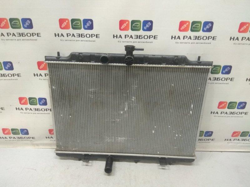 Радиатор двс Nissan Tiida C11 (б/у)