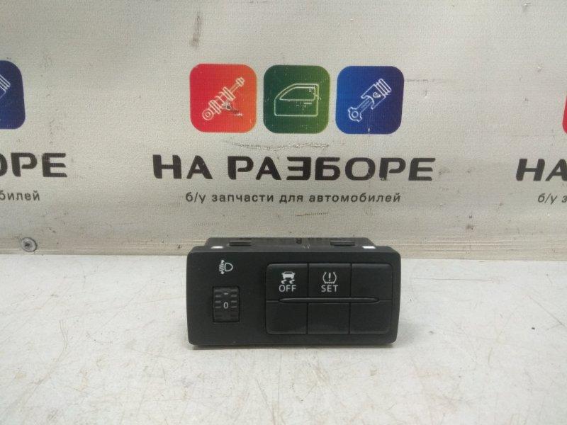 Кнопка корректора фар Mazda 6 GJ PE-VPS 2.0 2013 (б/у)