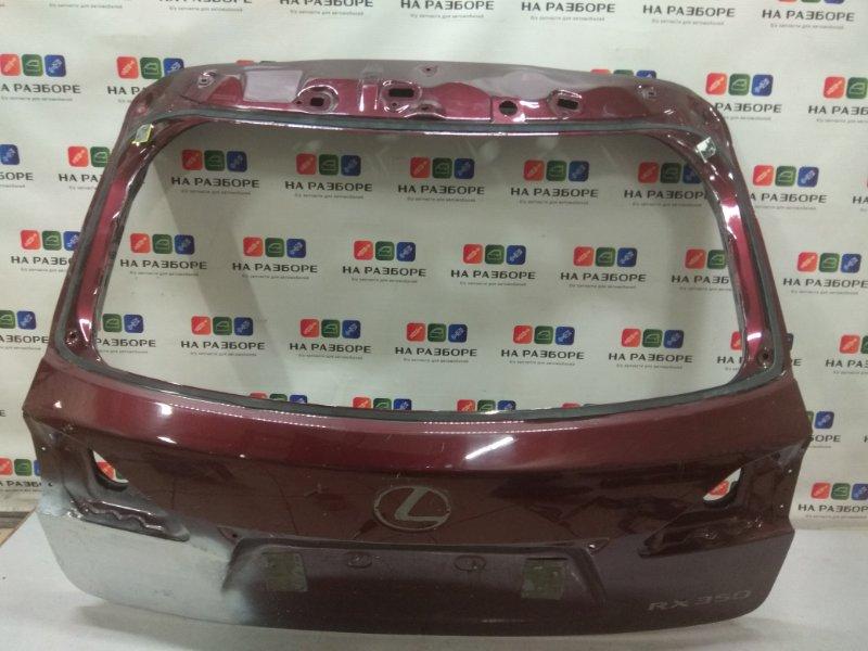 Крышка багажника Lexus Rx 350 (б/у)