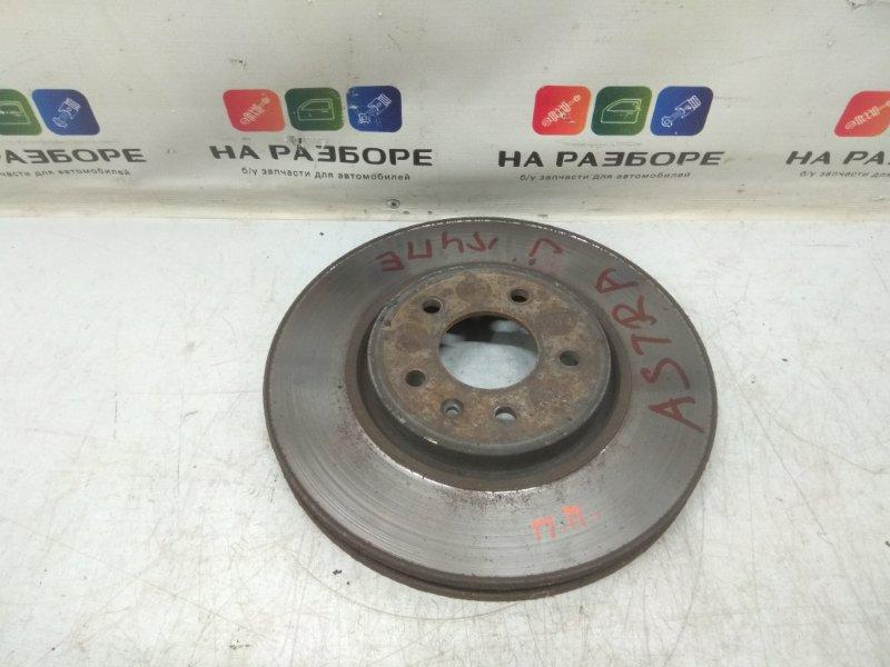 Тормозной диск Opel Astra J передний правый (б/у)
