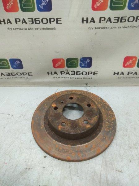 Тормозной диск Opel Astra H задний правый (б/у)