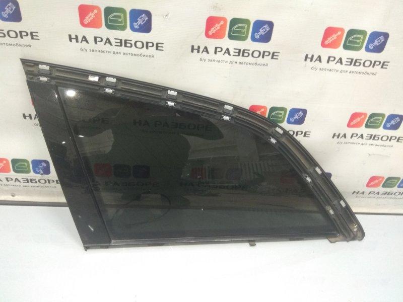 Форточка в крыло Audi Q7 4LB 4.2 2006 задняя левая (б/у)