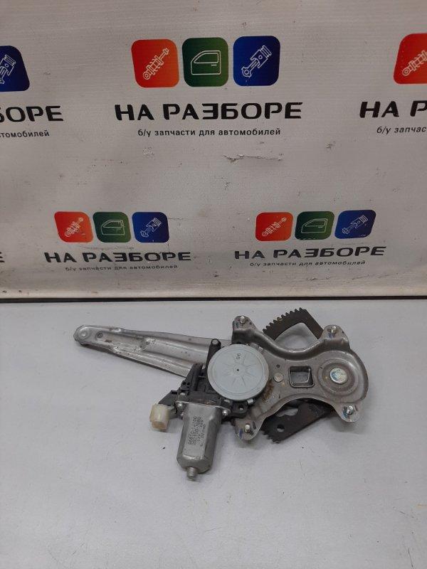 Стеклоподъемник Hyundai I20 задний правый (б/у)