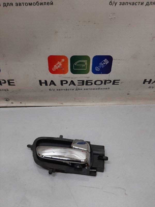 Ручка двери внутренняя Hyundai I20 передняя правая (б/у)