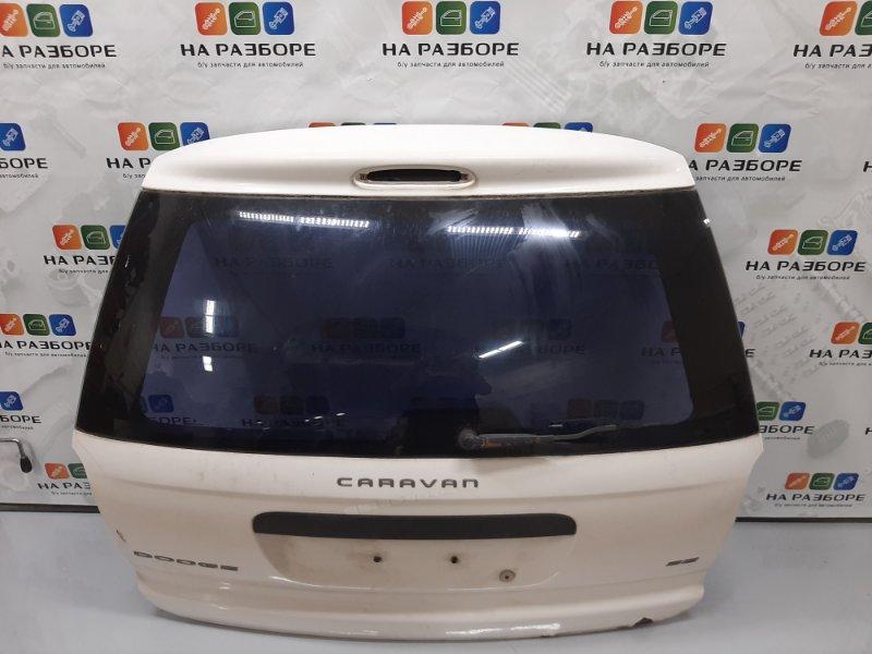 Крышка багажника Dodge Caravan 4 2.4 EDZ (б/у)