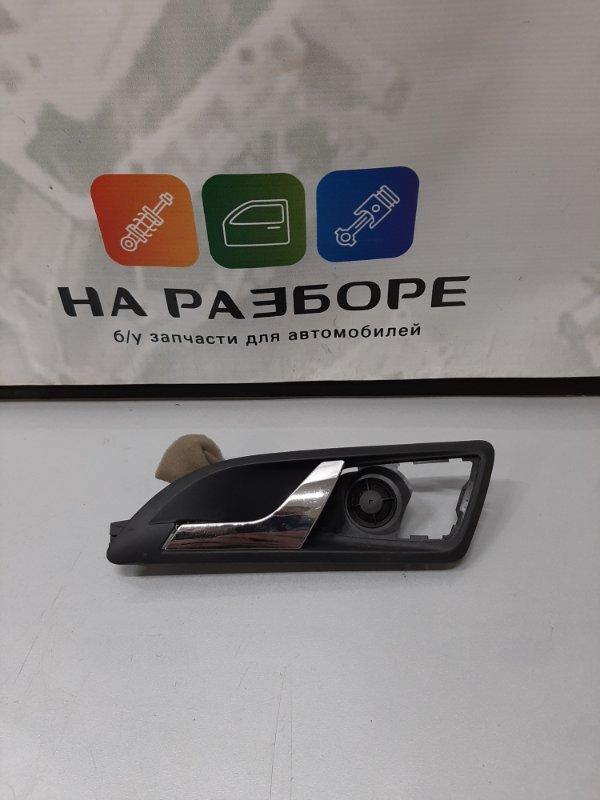 Ручка двери внутренняя Skoda Octavia A5 задняя левая (б/у)