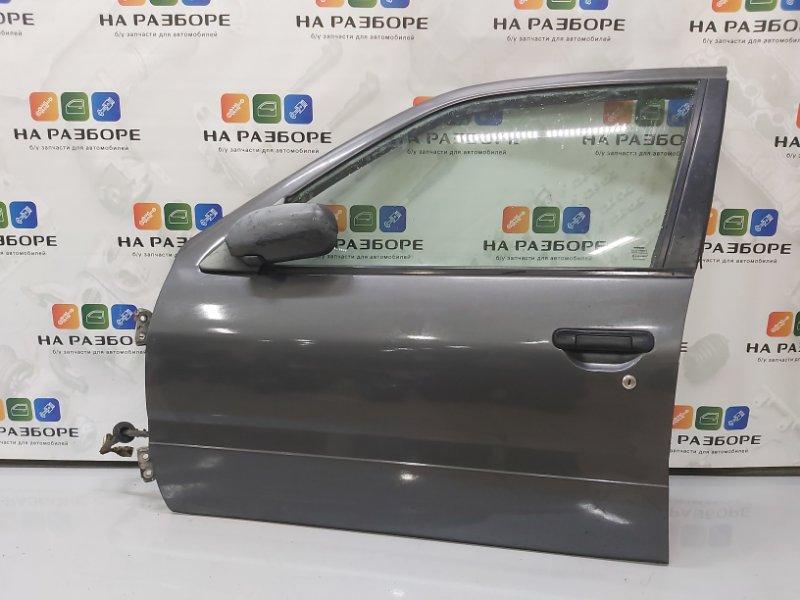 Дверь Nissan Primera P10 передняя левая (б/у)