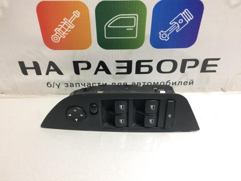 Блок управления стеклами (кнопка ) Bmw X1 передний левый (б/у)