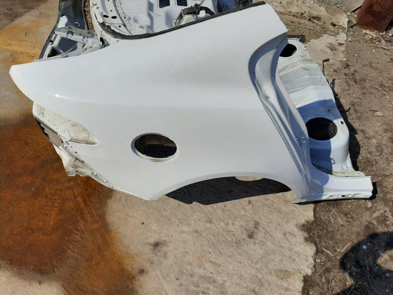 Четверть Jaguar Xf X250 AJ126 2013 задний правый (б/у)