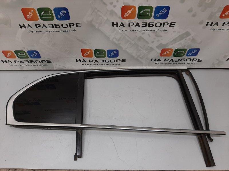 Уплотнительная резинка стекла двери Skoda Superb 3T CDA 2011 задняя правая (б/у)
