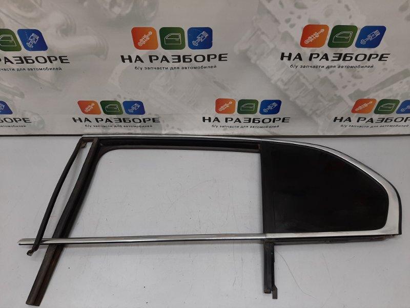 Уплотнительная резинка стекла двери Skoda Superb 3T CDA 2011 задняя левая (б/у)