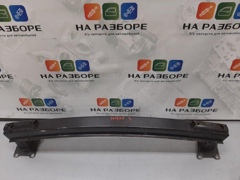 Усилитель бампера Skoda Superb 3T CDA 2011 задний (б/у)