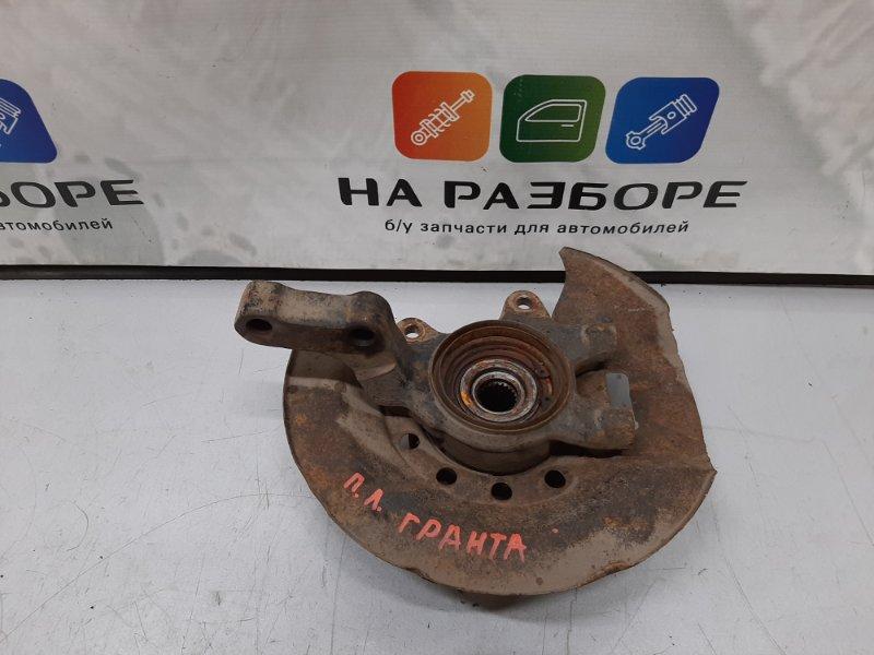 Кулак поворотный Lada Granta СЕДАН 11186 2013 передний левый (б/у)