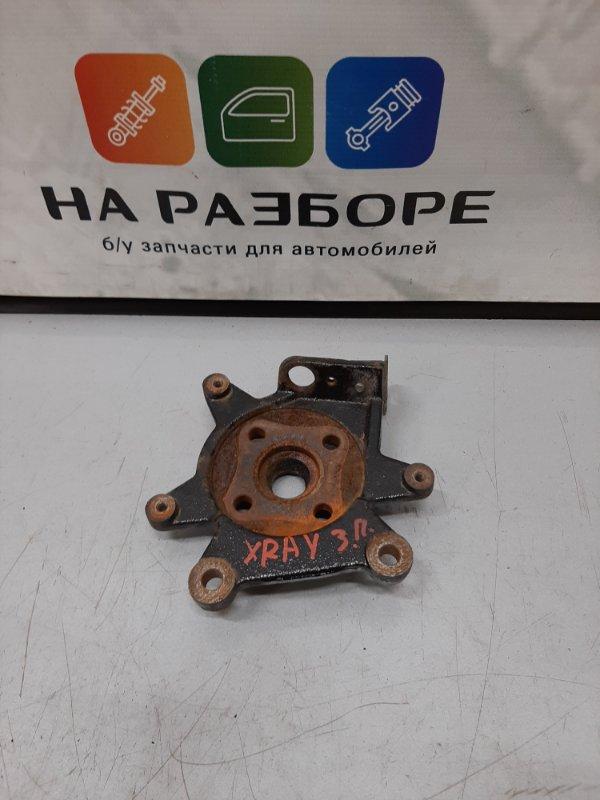 Кронштейн суппорта Lada Xray CROSS 1.6 2018 задний левый (б/у)