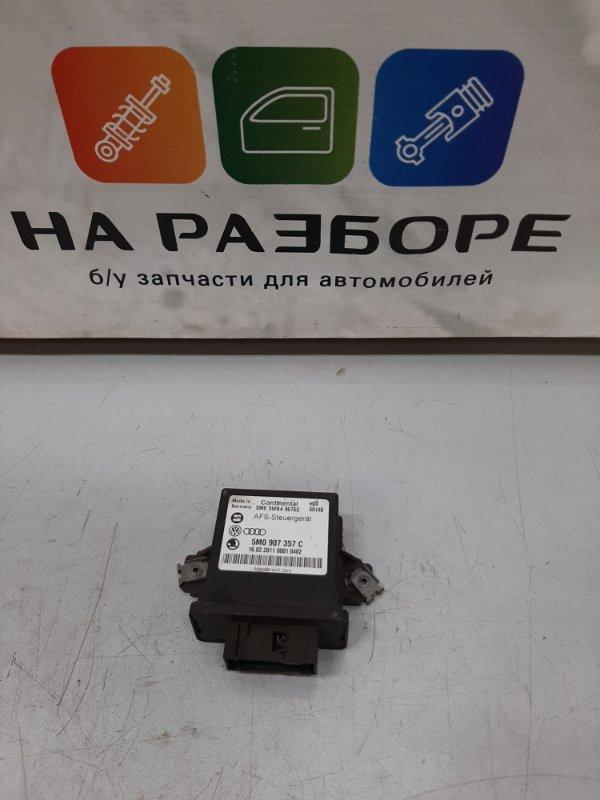 Блок управления световым сигналом Skoda Superb 3T CDA 2011 (б/у)