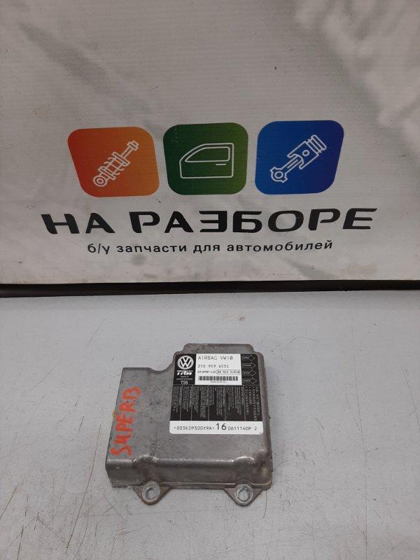 Блок управления air bag Skoda Superb 3T CDA 2011 (б/у)