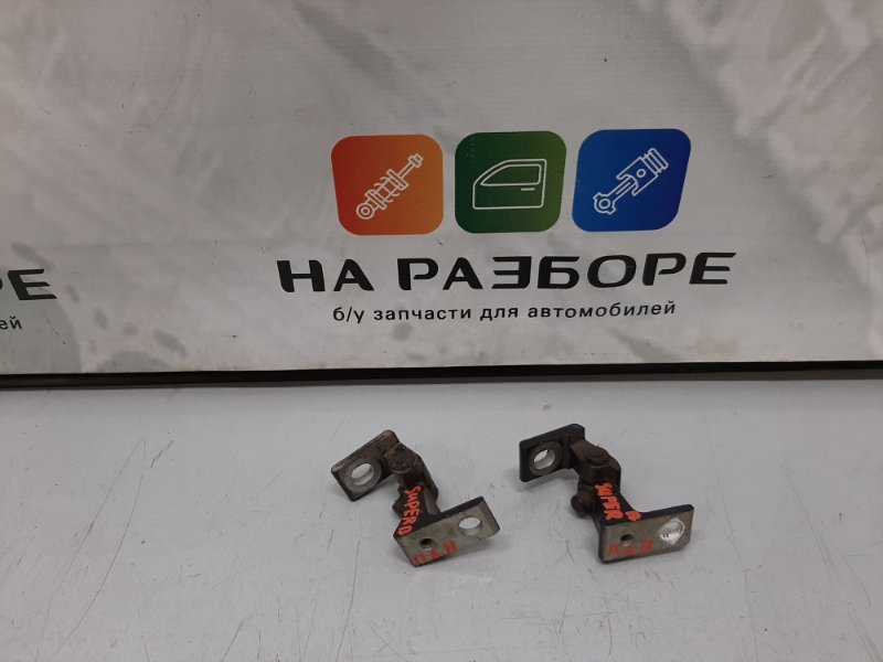 Петля двери Skoda Superb 3T CDA 2011 передняя левая (б/у)