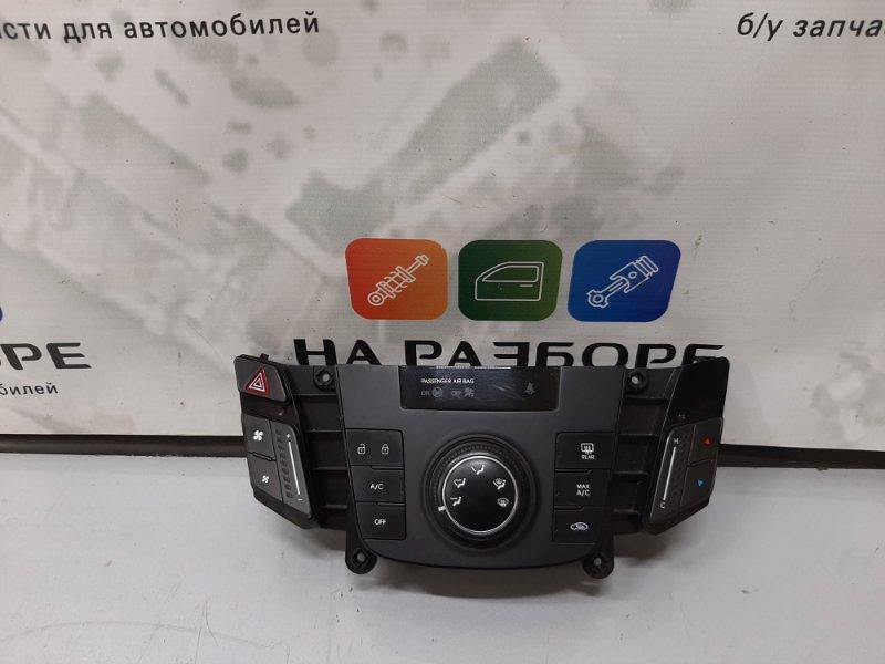 Панель управления климат-контролем Hyundai I40 2013 (б/у)