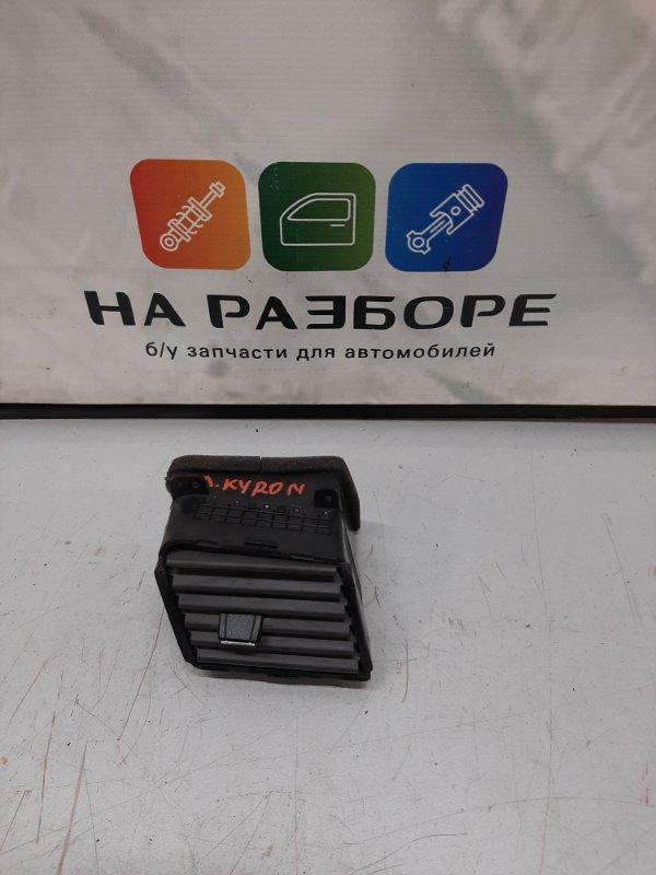 Дефлектор на торпедо Ssangyong Kyron DJ G23D KYRON 2013 левый (б/у)