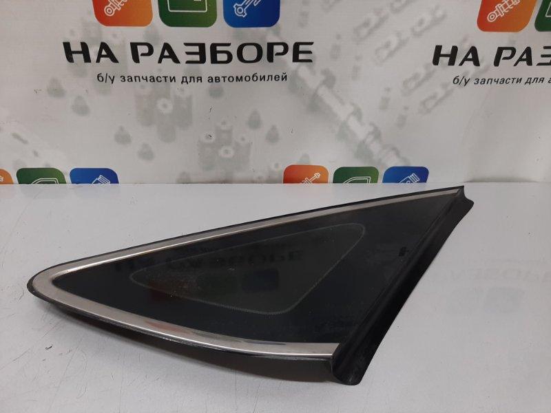 Форточка в крыло Hyundai I40 2013 задняя правая (б/у)