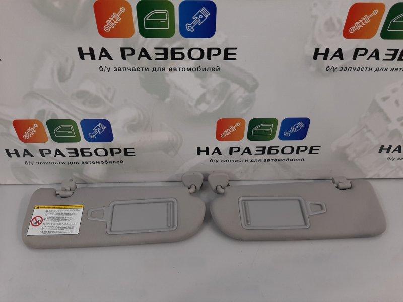 Козырек солнцезащитный Hyundai I40 2013 (б/у)