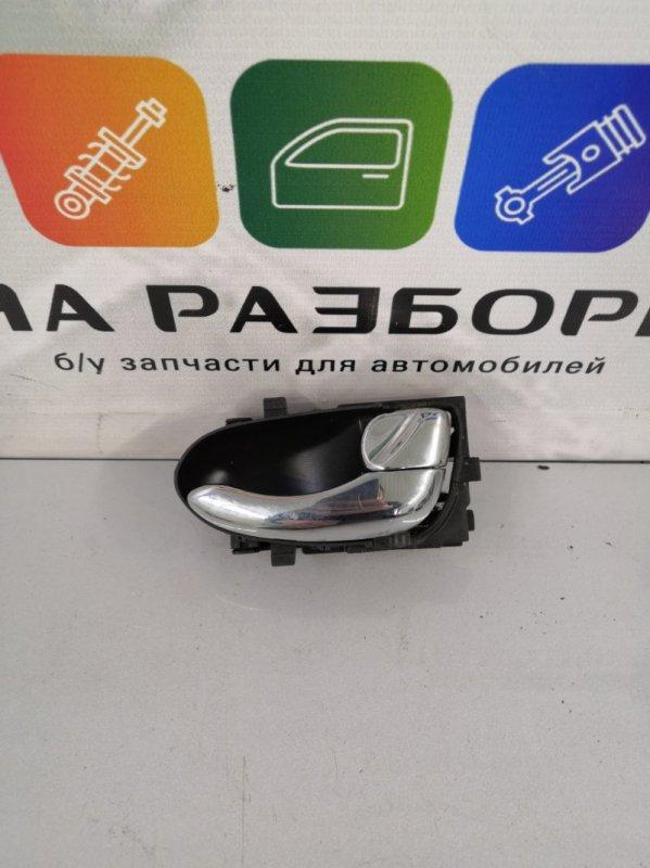 Ручка двери внутренняя Nissan Maxima A33 VQ20DE 2004 задняя правая (б/у)